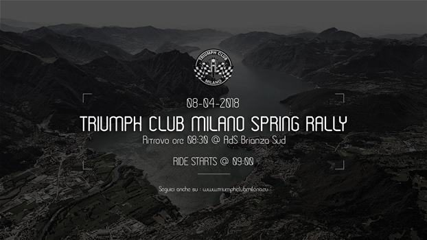 Triumph Club Milano Spring Rally