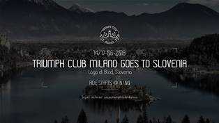 Triumph Club Milano goes To Slovenia