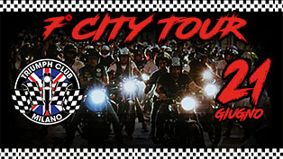 Triumph Club Milano 7 City Tour