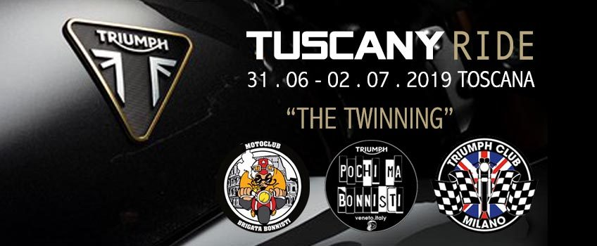 The Twinning – Toscana Ride